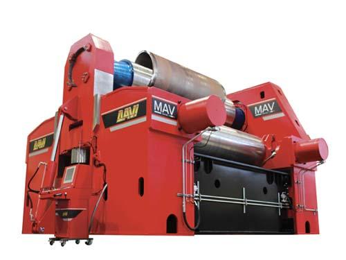 DAVI MAV 3 Walzen Rundbiegemaschinen