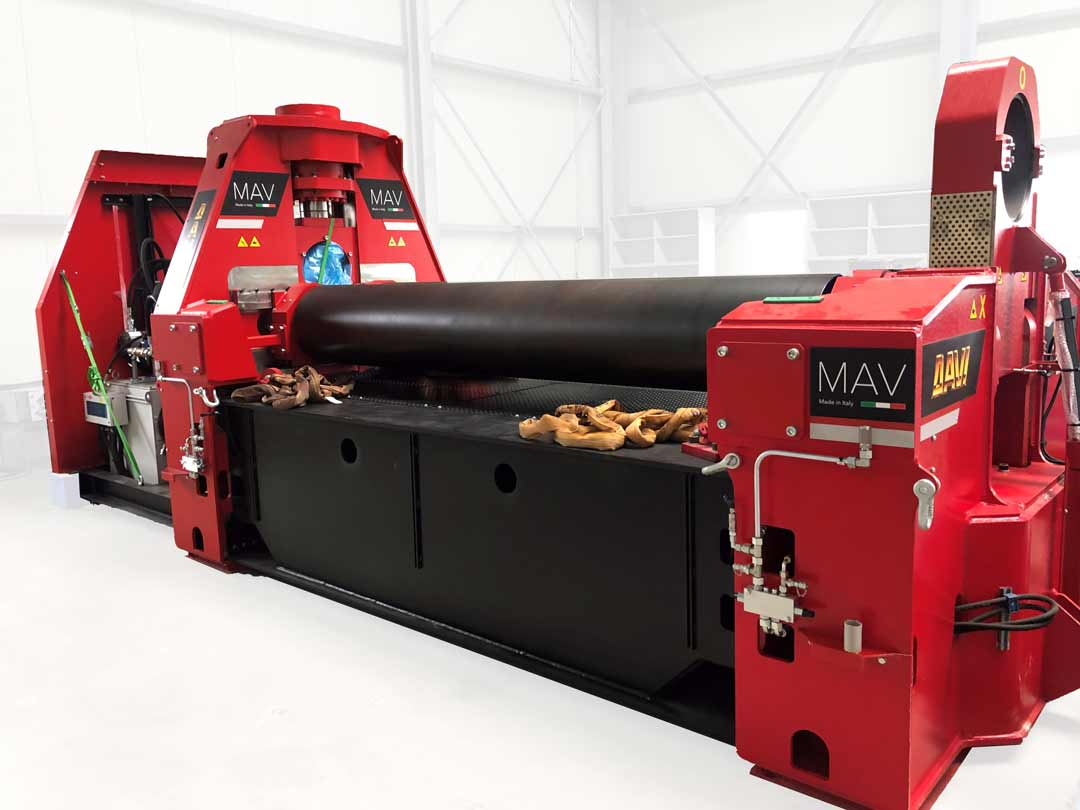 DAVI MAV J30 3-Walzen-Rundbiegemaschine neu