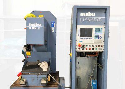 MABU C-Gestellpresse 12TFK/S  mechanisch