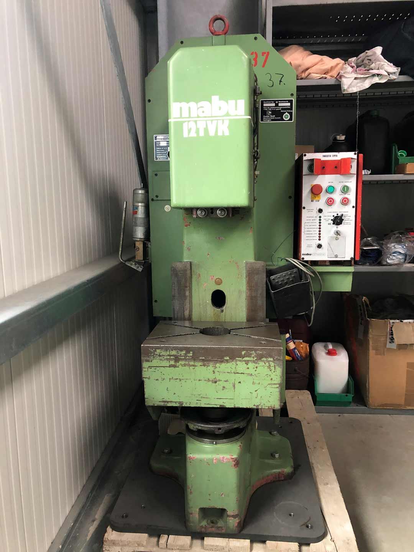 MABU C-Gestellpresse 12 TVK  mechanisch