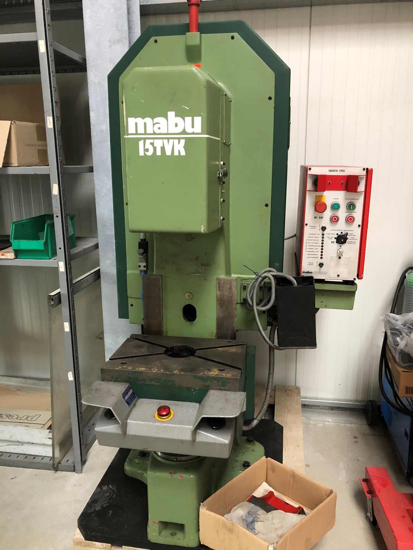 MABU C-Gestellpresse 15 TVK  mechanisch