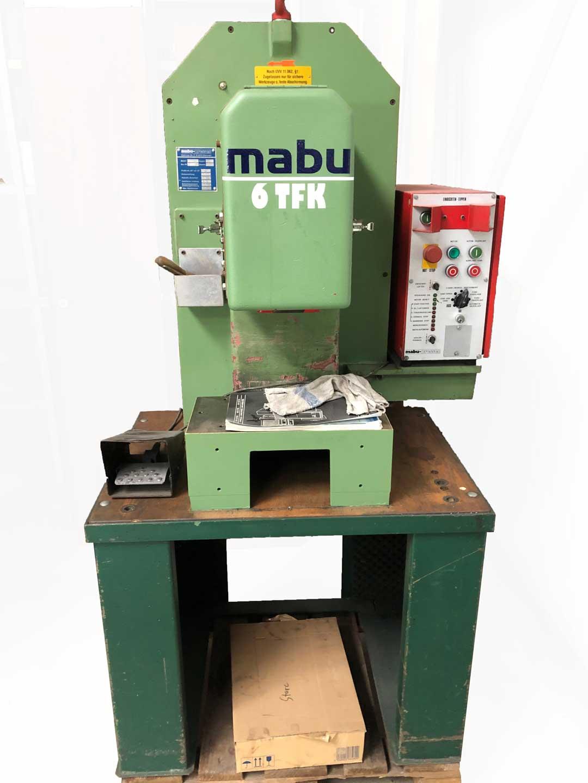 MABU C-Gestellpresse 6 TFK mechanisch