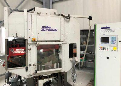 MABU Stanzautomat 32HSS mit Zangenvorschub RC11