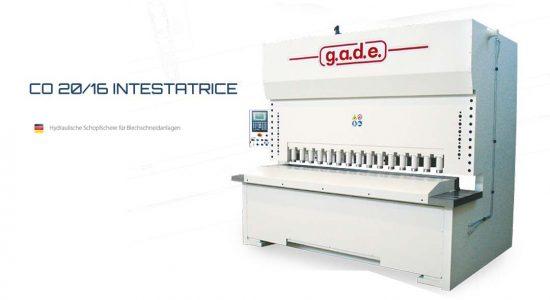 GADE CO 20/16 Intestratice
