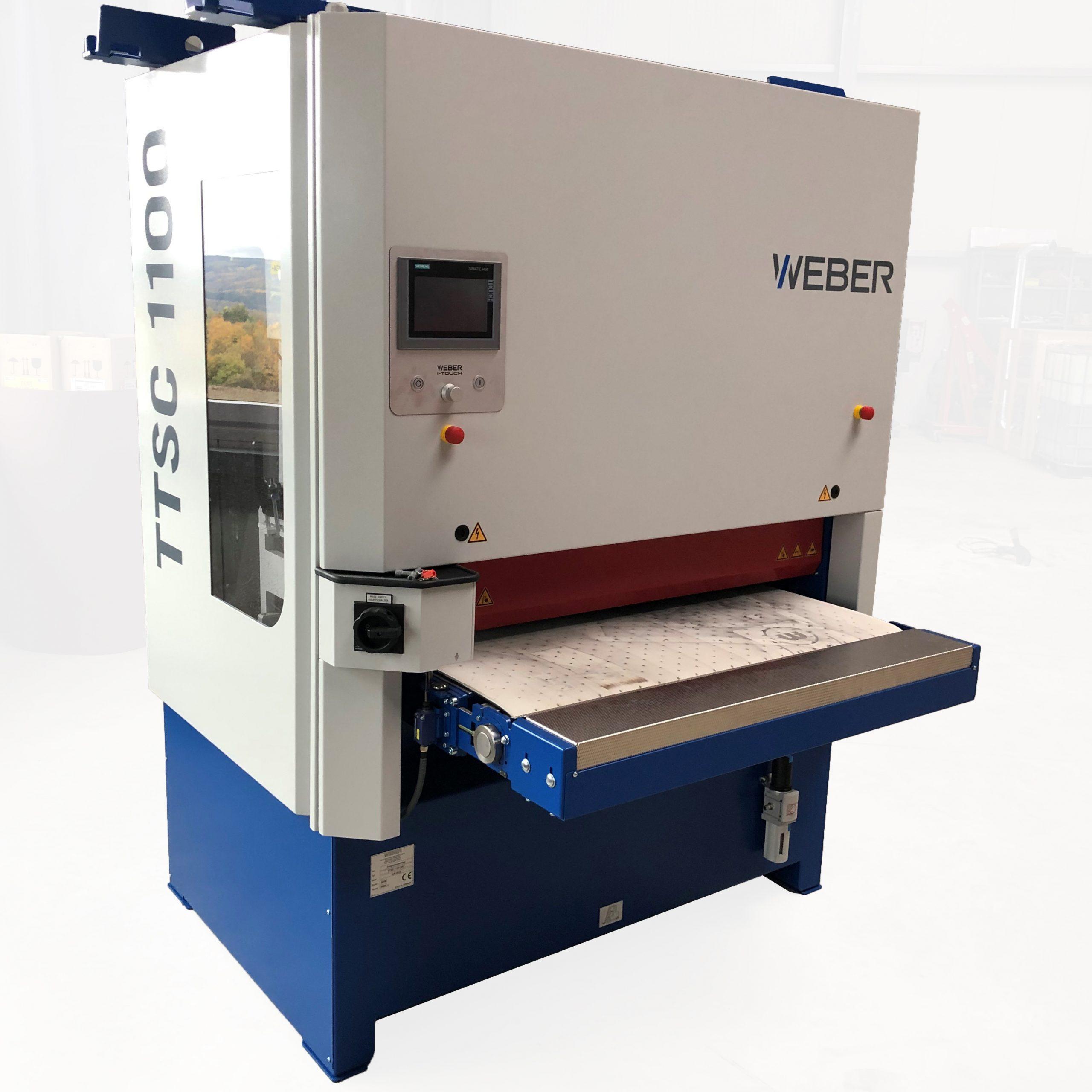 WEBER TTSC 1100 Entgratschleifmaschine